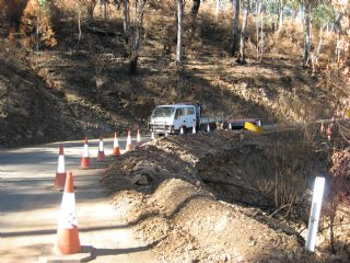 Great Alpine Road - Hotham - Road Works